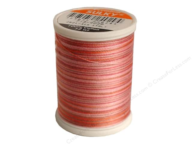 Sulky Blendables Cotton Thread 12 wt. 330 yd. #4029 Mocha Mauve