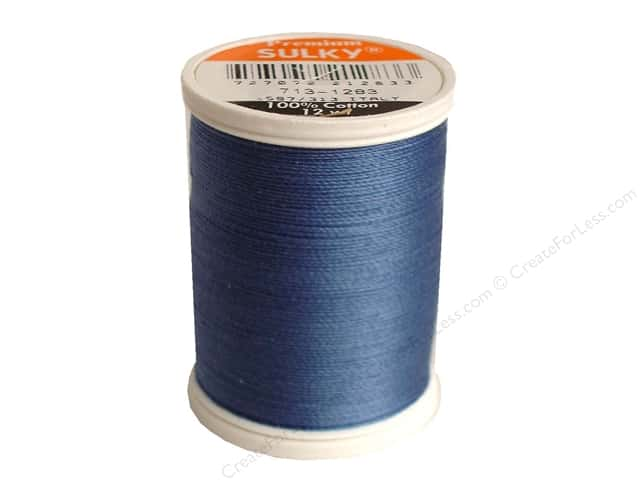 Sulky Cotton Thread 12 wt. 330 yd. #1283 Slate Grey