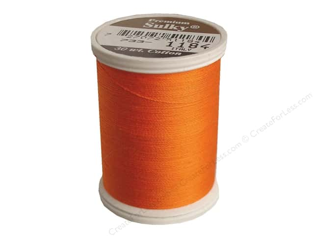 Sulky Cotton Thread 30 wt. 500 yd. #1184 Orange Red