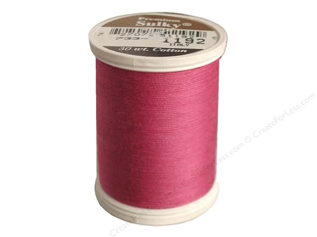 Sulky Cotton Thread 30 wt. 500 yd. #1192 Fuchsia