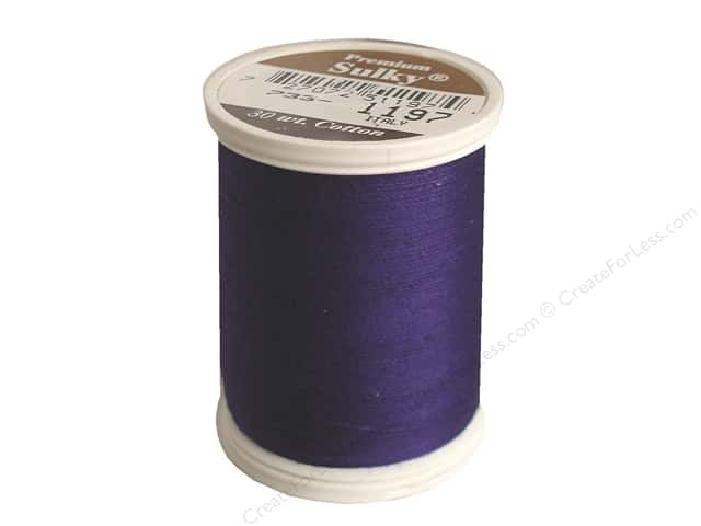 Sulky Cotton Thread 30 wt. 500 yd. #1197 Medium Navy