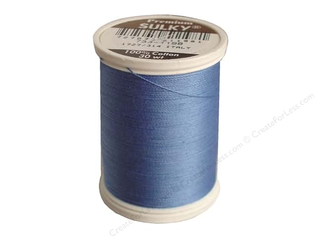 Sulky Cotton Thread 30 wt. 500 yd. #1198 Dusty Navy