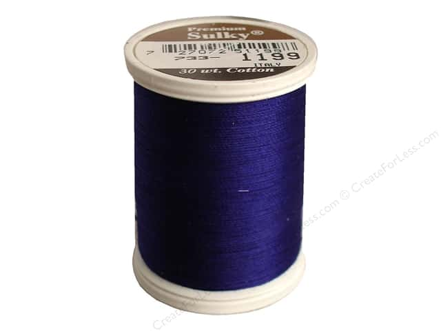 Sulky Cotton Thread 30 wt. 500 yd. #1199 Admiral Navy Blue