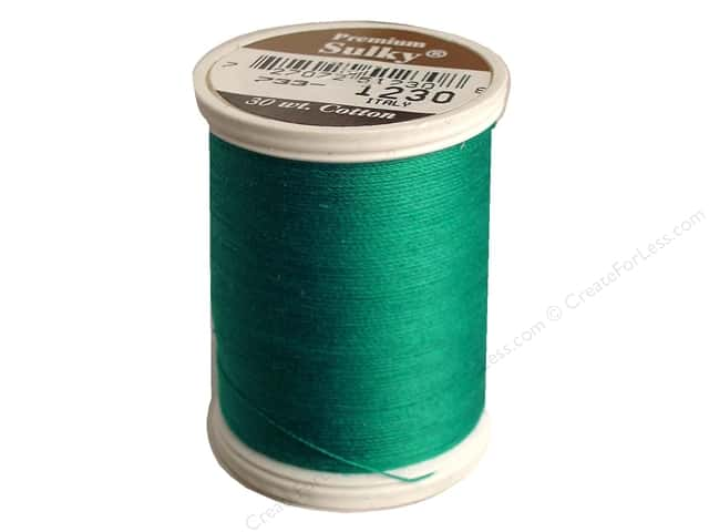 Sulky Cotton Thread 30 wt. 500 yd. #1230 Dark Teal