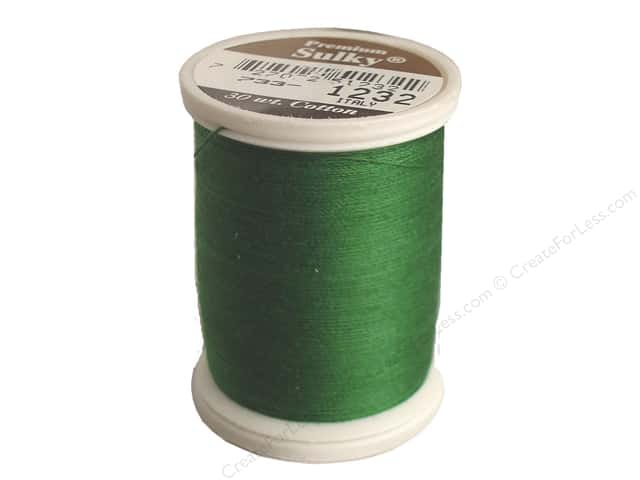 Sulky Cotton Thread 30 wt. 500 yd. #1232 Classic Green