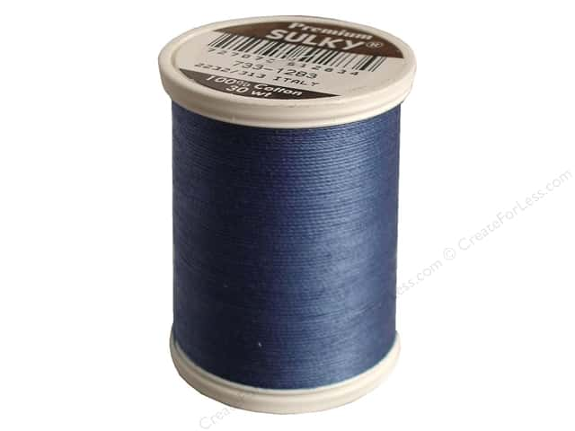 Sulky Cotton Thread 30 wt. 500 yd. #1283 Slate Grey