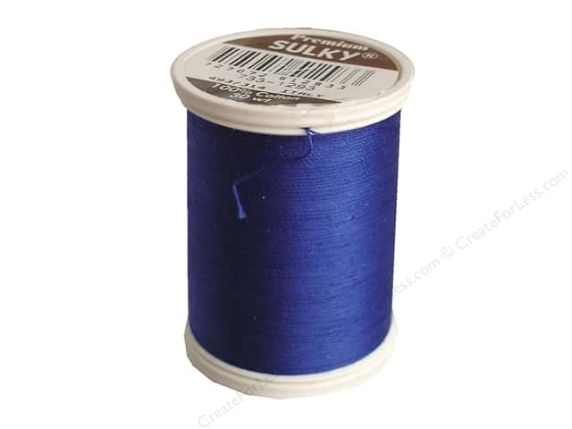 Sulky Cotton Thread 30 wt. 500 yd. #1239 Deep Nassau Blue