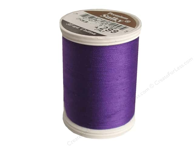 Sulky Cotton Thread 30 wt. 500 yd. #1299 Purple Shadow