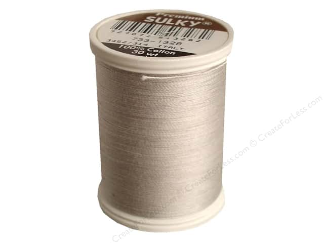 Sulky Cotton Thread 30 wt. 500 yd. #1328 Nickel Grey