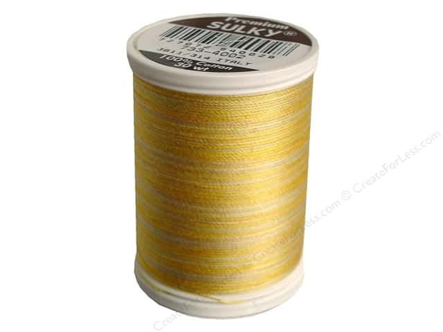 Sulky Blendables Cotton Thread 30 wt. 500 yd. #4002 Buttercream