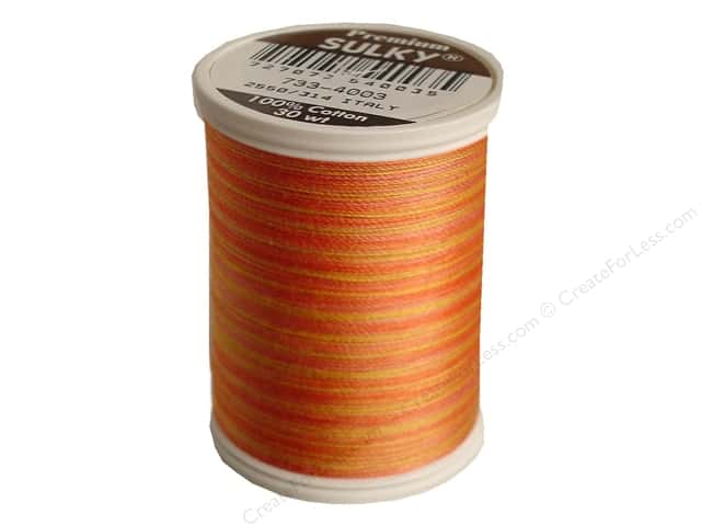 Sulky Blendables Cotton Thread 30 wt. 500 yd. #4003 Sunset