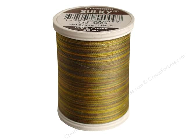 Sulky Blendables Cotton Thread 30 wt. 500 yd. #4009 Foliage