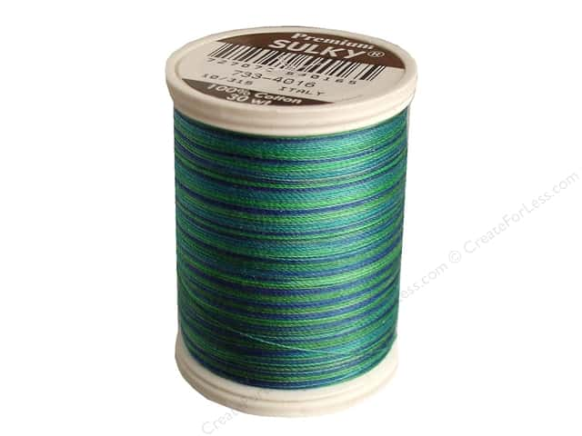 Sulky Blendables Cotton Thread 30 wt. 500 yd. #4016 Peacock Plume