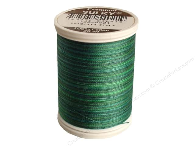 Sulky Blendables Cotton Thread 30 wt. 500 yd. #4021 Truly Teal