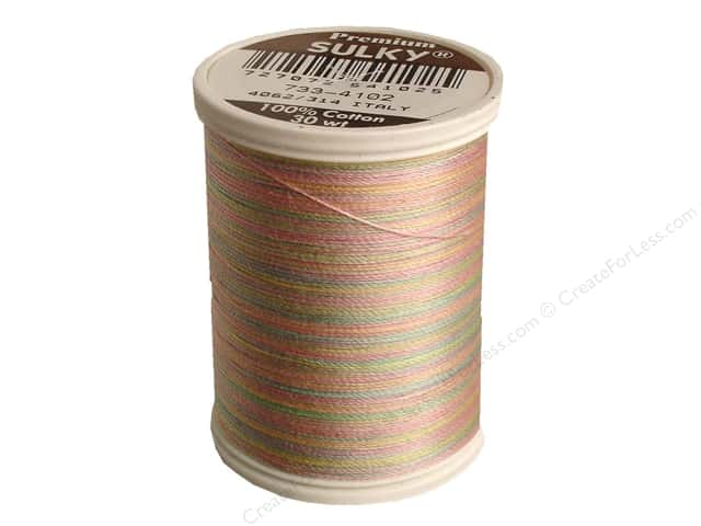 Sulky Blendables Cotton Thread 30 wt. 500 yd. #4102 Spring Garden