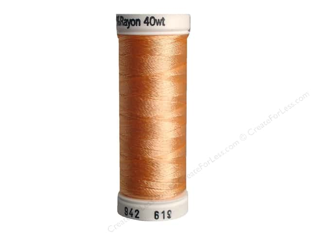 Sulky Rayon Thread 40 wt. 250 yd. #619 Dusty Peach