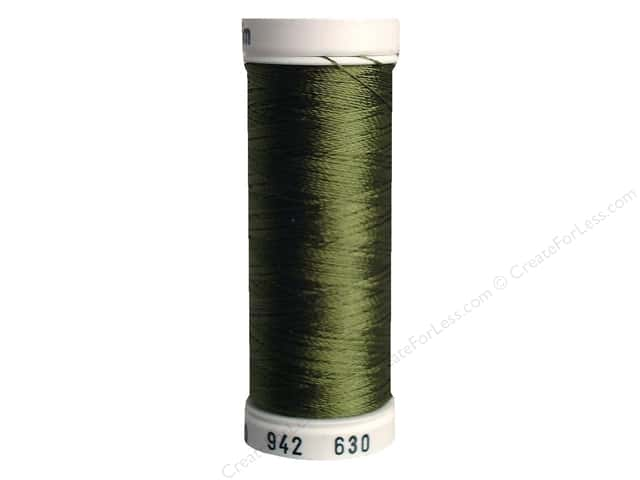Sulky Rayon Thread 40 wt. 250 yd. #630 Moss Green