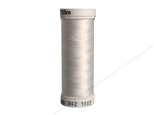 Sulky Rayon Thread 40 wt. 250 yd. #1002 Soft White