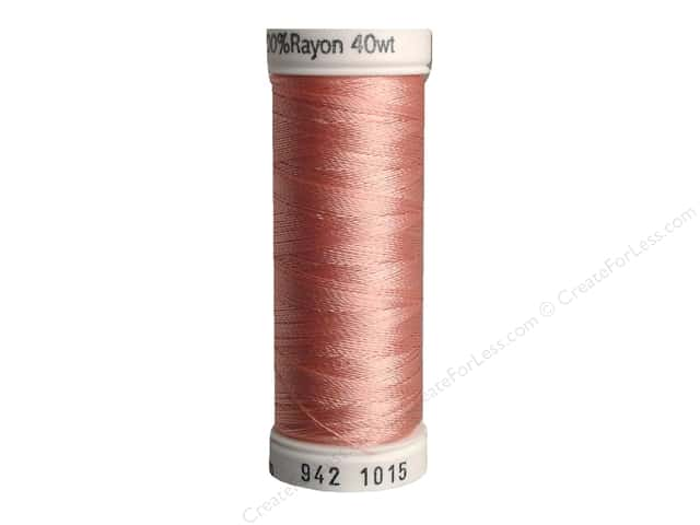 Sulky Rayon Thread 40 wt. 250 yd. #1015 Medium Peach
