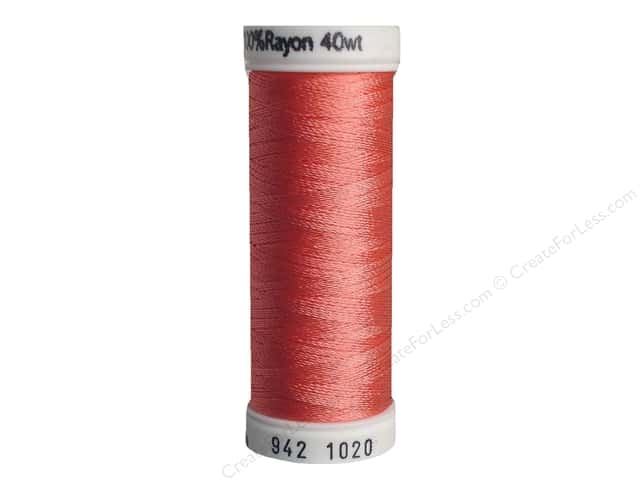 Sulky Rayon Thread 40 wt. 250 yd. #1020 Dark Peach