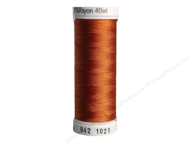 Sulky Rayon Thread 40 wt. 250 yd. #1021 Maple