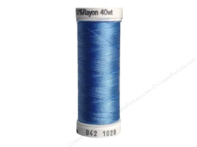 Sulky Rayon Thread 40 wt. 250 yd. #1028 Baby Blue