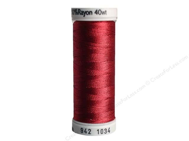 Sulky Rayon Thread 40 wt. 250 yd. #1034 Burgundy