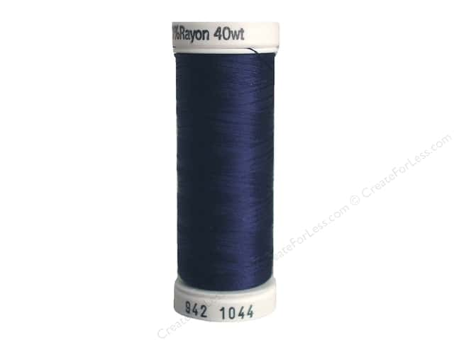 Sulky Rayon Thread 40 wt. 250 yd. #1044 Midnight Blue