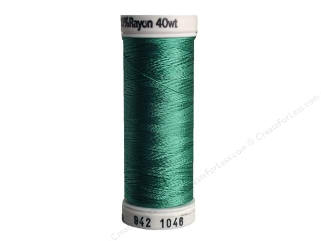 Sulky Rayon Thread 40 wt. 250 yd. #1046 Teal