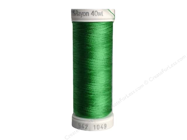 Sulky Rayon Thread 40 wt. 250 yd. #1049 Grass Green