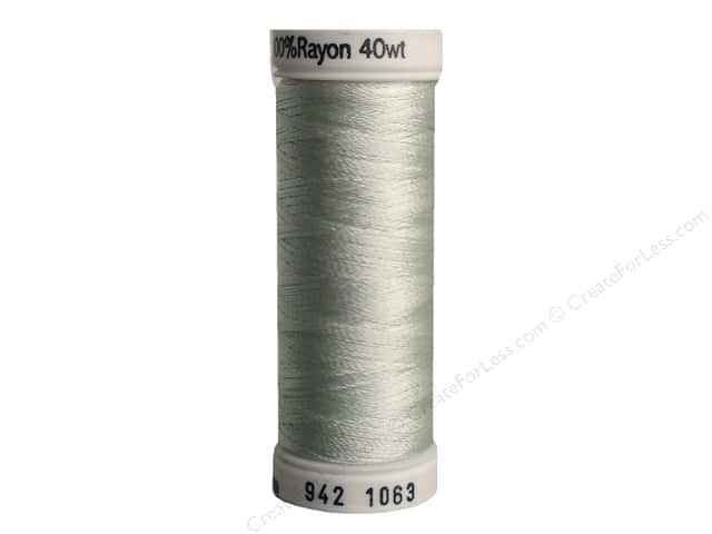 Sulky Rayon Thread 40 wt. 250 yd. #1063 Pale Yellow Green
