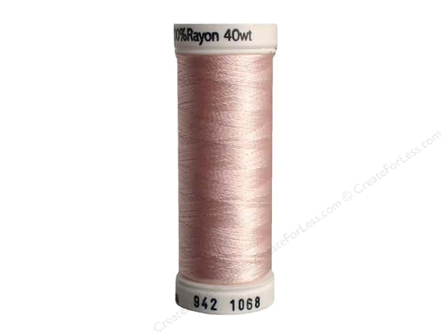 Sulky Rayon Thread 40 wt. 250 yd. #1068 Pink Tint