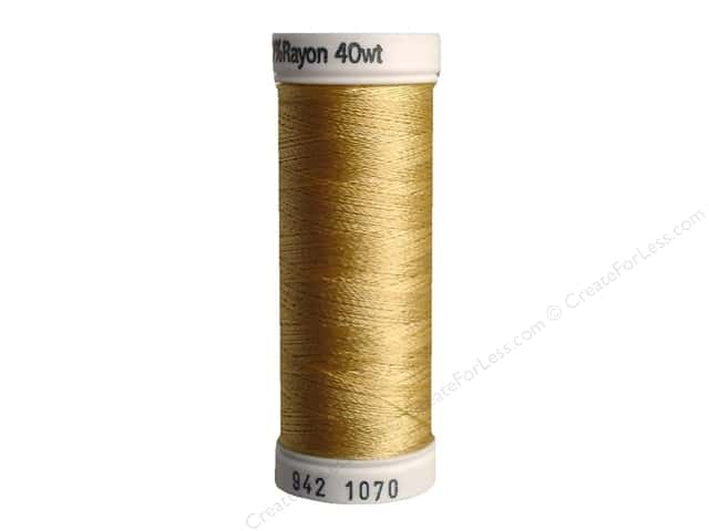 Sulky Rayon Thread 40 wt. 250 yd. #1070 Gold