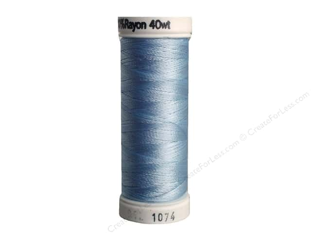 Sulky Rayon Thread 40 wt. 250 yd. #1074 Pale Powder Blue