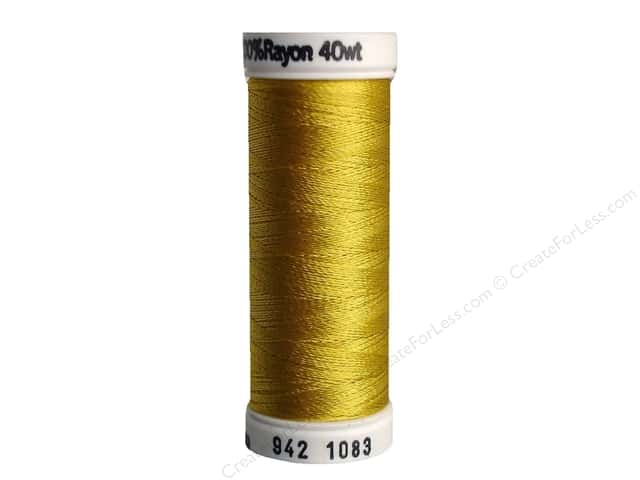Sulky Rayon Thread 40 wt. 250 yd. #1083 Spark Gold
