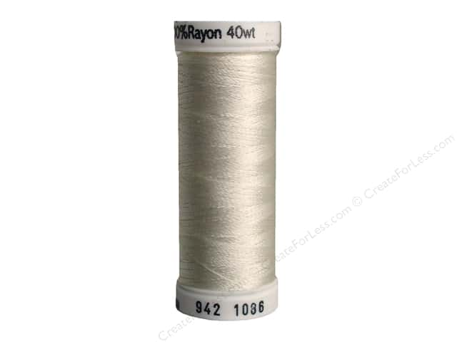 Sulky Rayon Thread 40 wt. 250 yd. #1086 Pale Sea Foam