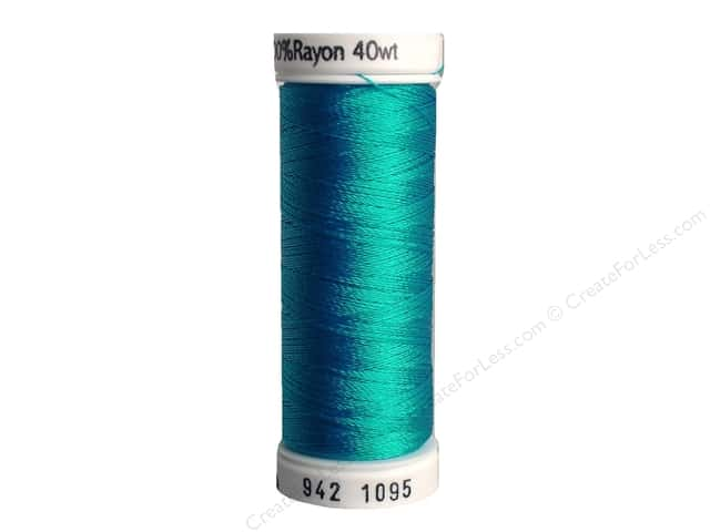Sulky Rayon Thread 40 wt. 250 yd. #1095 Turquoise