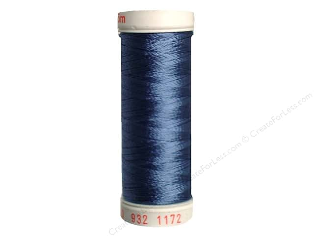 Sulky Rayon Thread 30 wt. 180 yd. #1172 Medium Weathered Blue