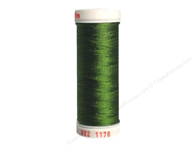 Sulky Rayon Thread 30 wt. 180 yd. #1176 Medium Dark Avocado