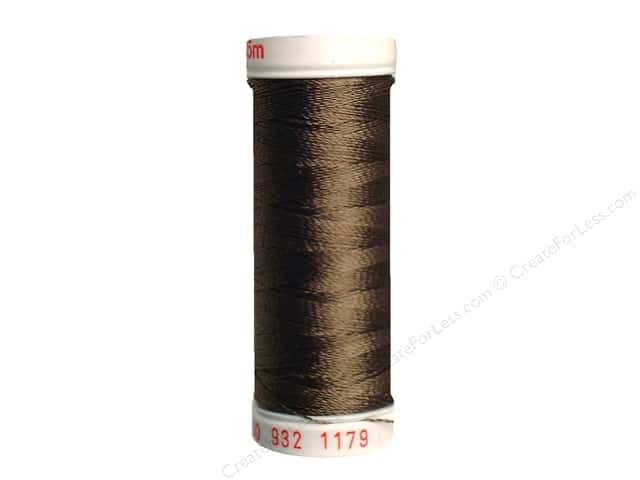 Sulky Rayon Thread 30 wt. 180 yd. #1179 Dark Taupe