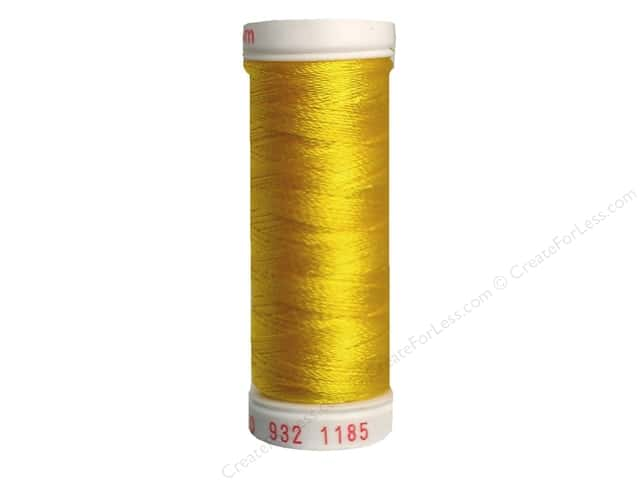 Sulky Rayon Thread 30 wt. 180 yd. #1185 Golden Yellow