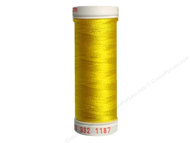 Sulky Rayon Thread 30 wt. 180 yd. #1187 Mimosa Yellow