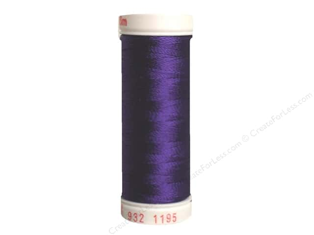 Sulky Rayon Thread 30 wt. 180 yd. #1195 Dark Purple