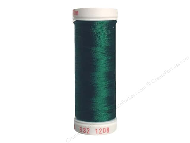 Sulky Rayon Thread 30 wt. 180 yd. #1208 Mallard Green