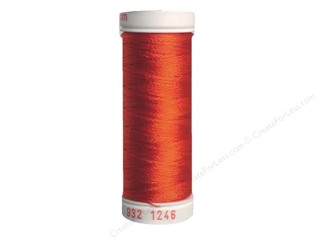 Sulky Rayon Thread 30 wt. 180 yd. #1246 Orange Flame