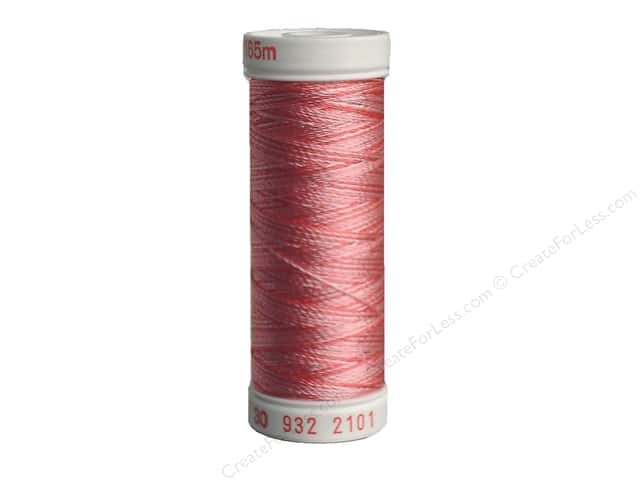 Sulky Rayon Thread 30 wt. 180 yd. #2101 Variegated Pinks