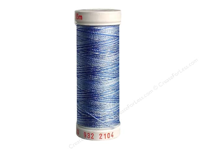 Sulky Rayon Thread 30 wt. 180 yd. #2104 Pastel Blues