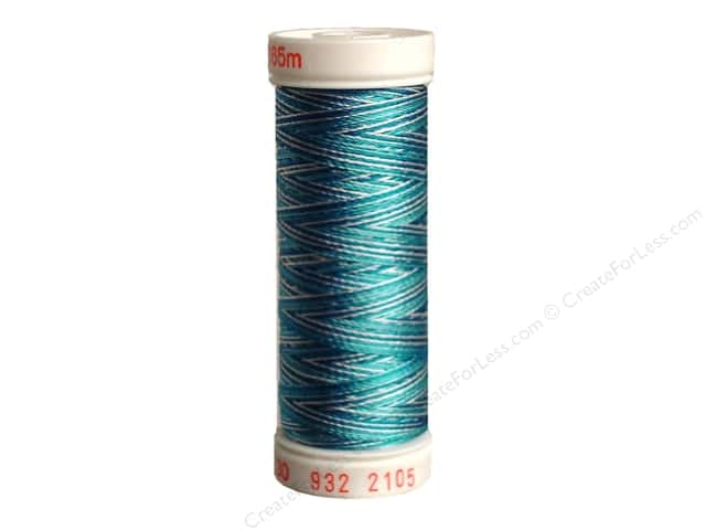Sulky Rayon Thread 30 wt. 180 yd. #2105 Teal Blues