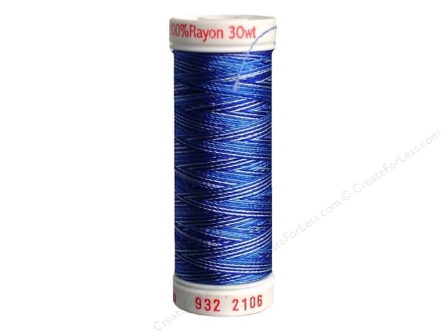 Sulky Rayon Thread 30 wt. 180 yd. #2106 Blues
