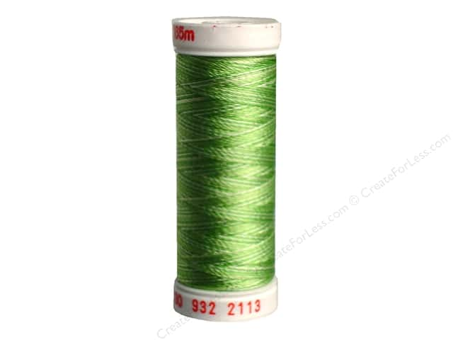 Sulky Rayon Thread 30 wt. 180 yd. #2113 Bright Greens